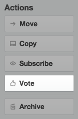 Trello Voting Power-Up